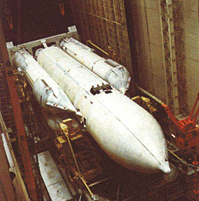 РН Энергия в МИКе космодрома